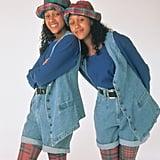 Tia Landry and Tamera Campbell From Sister, Sister