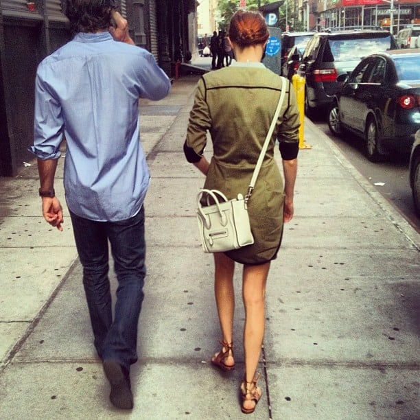 We spotted the street-styled Taylor Tomasi Hill taking a stroll in NYC.