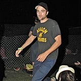 Robert Pattinson was in attendance at Coachella's second weekend with Kristen Stewart.