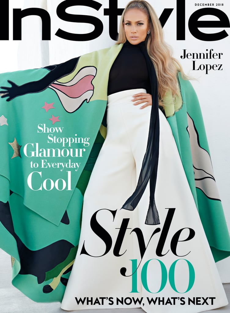 Jennifer's InStyle December 2018 Cover