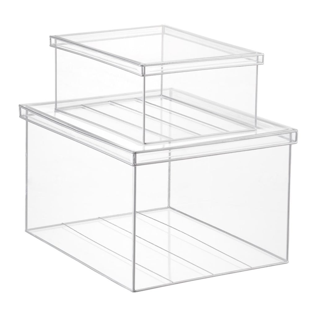 The Container Store Clear Lookers Boxes
