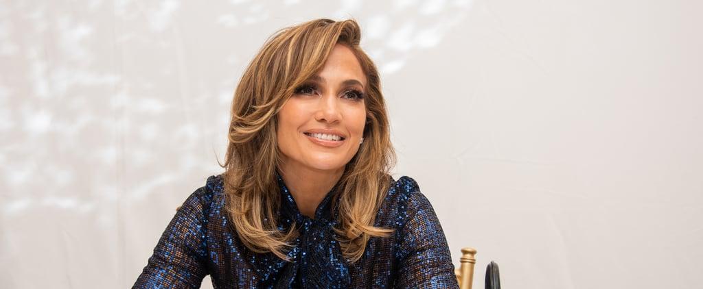 Jennifer Lopez's Navy Nail Polish Color