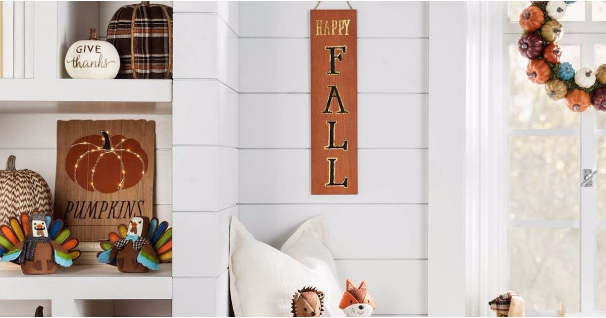 Fall decor from target popsugar home for Home decorations target