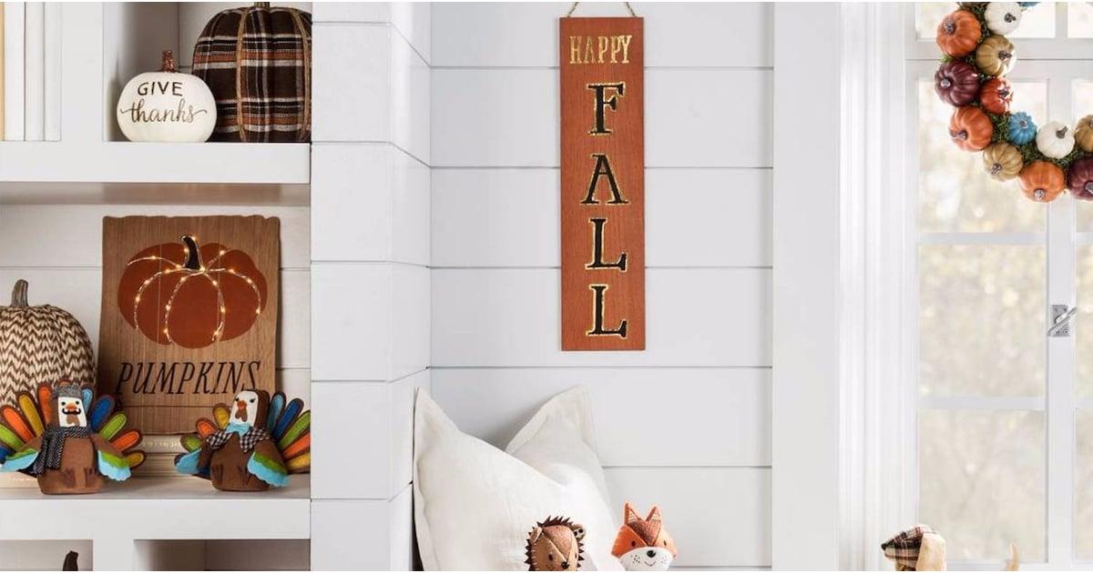 Fall Decor From Target Popsugar Home