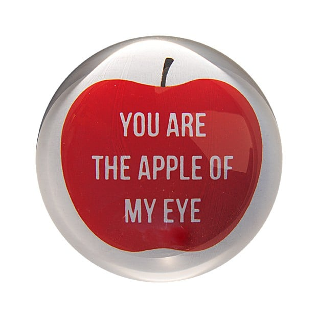 This Paperweight ($34) looks stylish sitting on your desk and  serves as a welcome workday reminder that someone loves you!