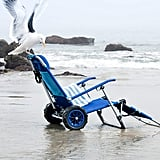 Beach Chair That Doubles as a Wagon