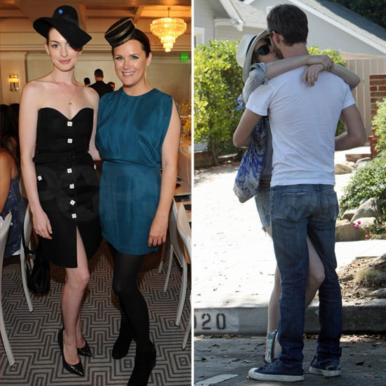 Anne Hathaway Boyfriend: Anne Hathaway And Adam Shulman Kissing Pictures