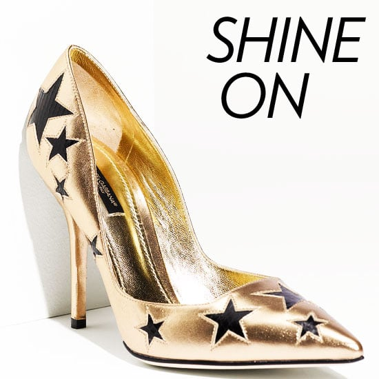 Metallic Shoes For Fall 2011