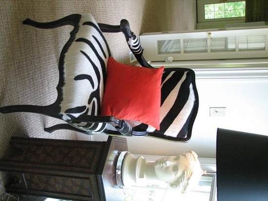 Crave Worthy: Camel Back Zebra Print Chair