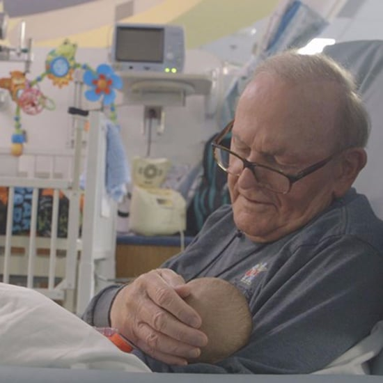 NICU Grandpa Who Holds Babies