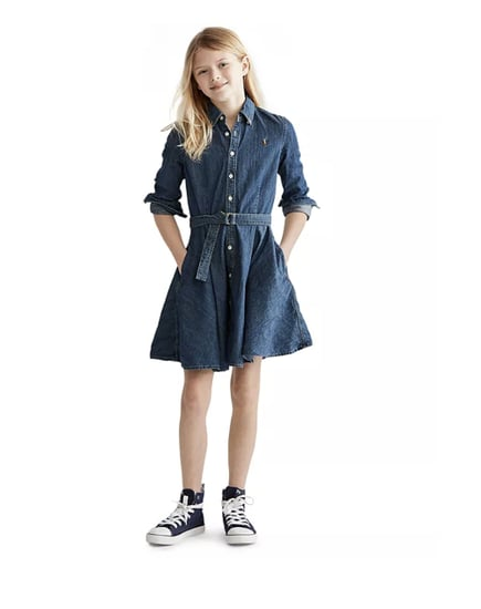 Polo Ralph Lauren Denim Cotton Shirtdress