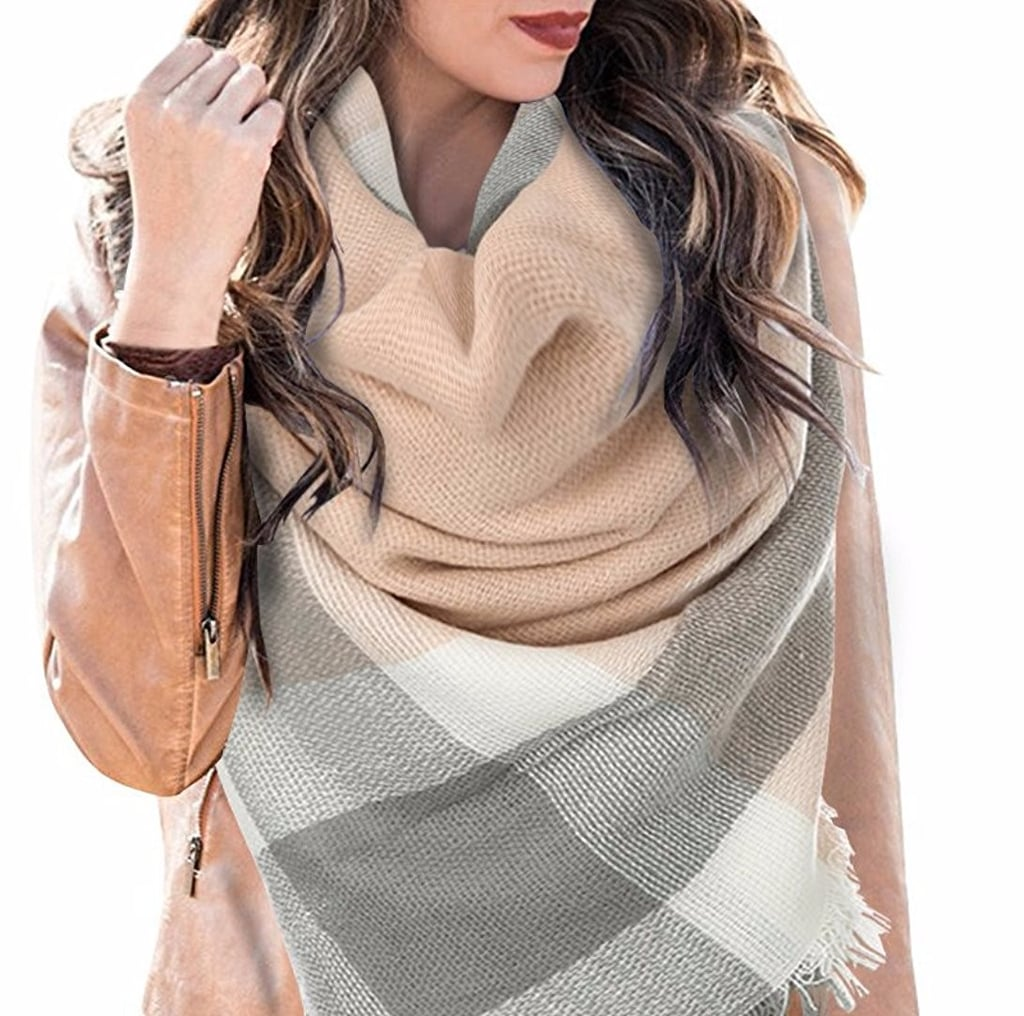 These 11 Scarves May Look Expensive, but They're All Under $15 and From Amazon