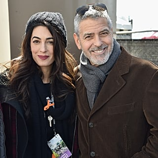 George and Amal Clooney at March For Our Lives 2018