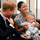 Photos of Archie During Meghan and Harry's South Africa Tour