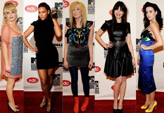 07/11/08 MTV EMAs 2008 The Girls
