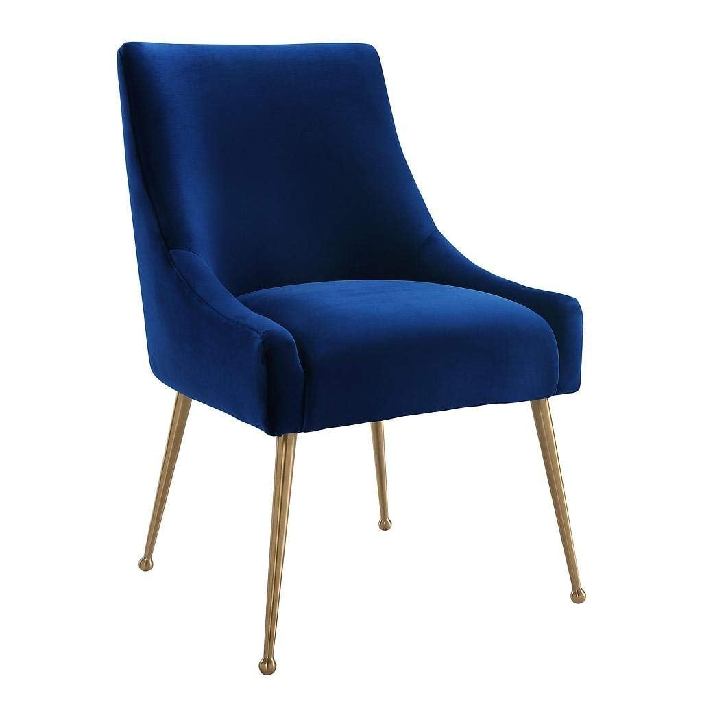 Tov Furniture The Beatrix Collection Velvet Upholstered Chair