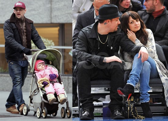Photos of Nicole Richie, Joel Madden, and Harlow Madden Together in NYC