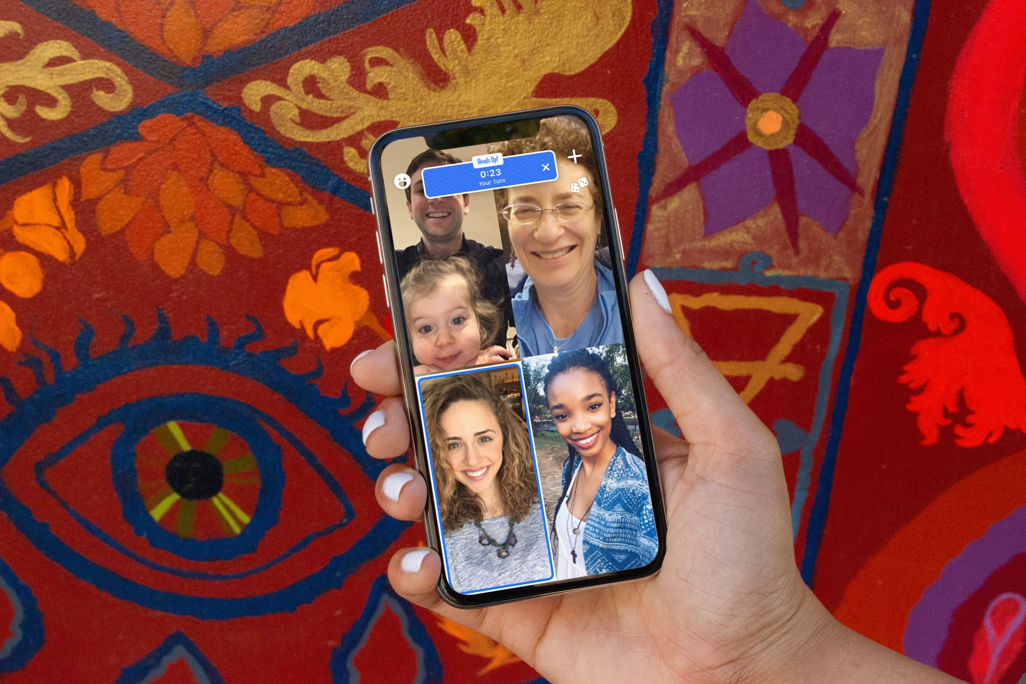 Your Phone Just Got a Lot More Fun Now That Houseparty Is Adding Ellen s Heads Up! Game