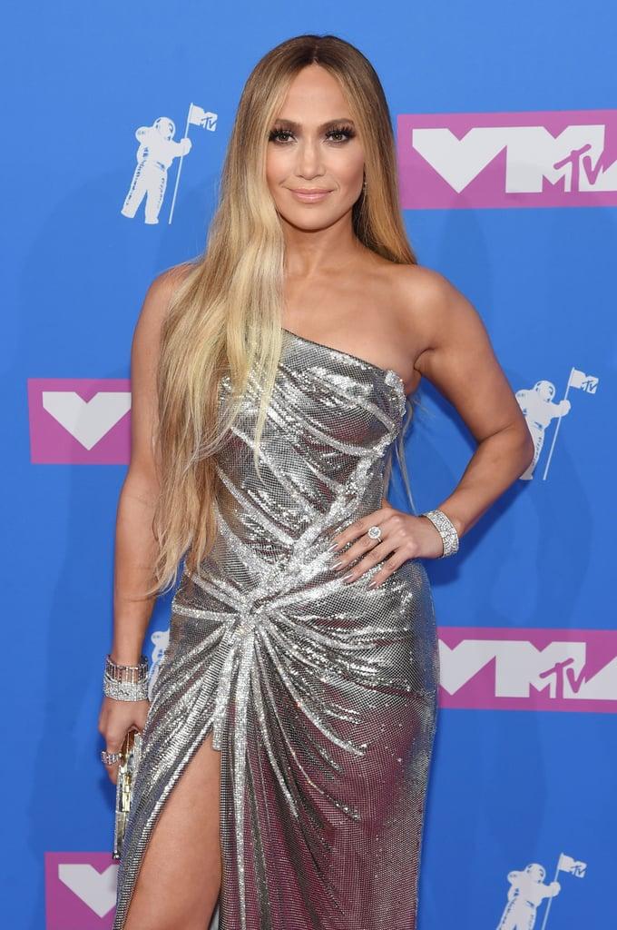 Jennifer Lopez's VMAs Hair and Makeup