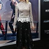 Naomi Watts in Derek Lam at Divergent Premiere 2016