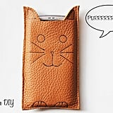 Cat Phone Sleeve
