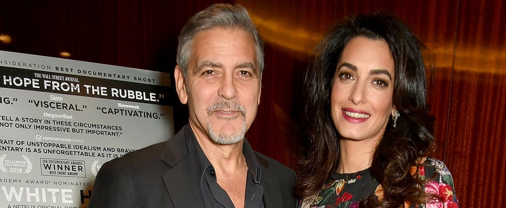 After a Second, You'll Realize the Best Part of Amal Clooney's Outfit Isn't Her Dress