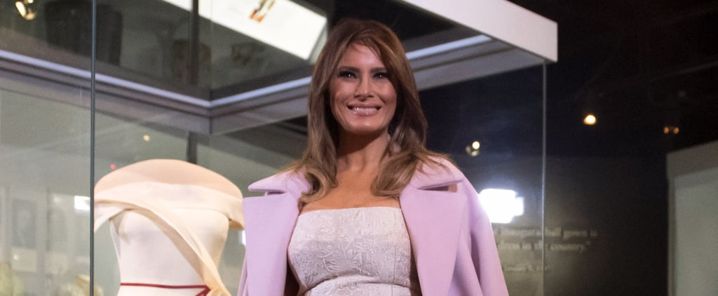 Melania Trump's Inaugural Dress at Smithsonian Museum