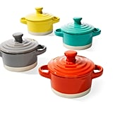 Creative Co-Op 6-Piece Stoneware Casserole Set