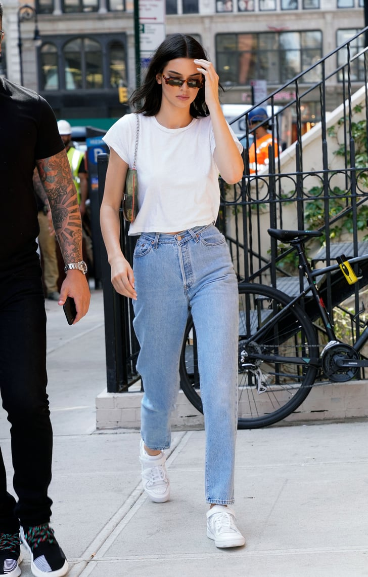 kendall kept things simple in new york for a tiffany  co