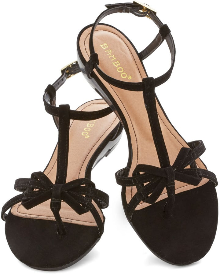 ModCloth Bow Sandals