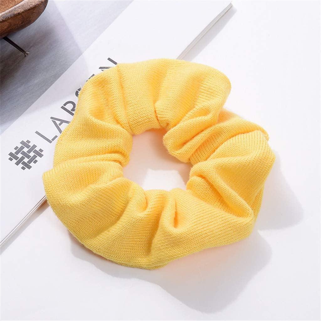Belle: Yellow Hair Scrunchie