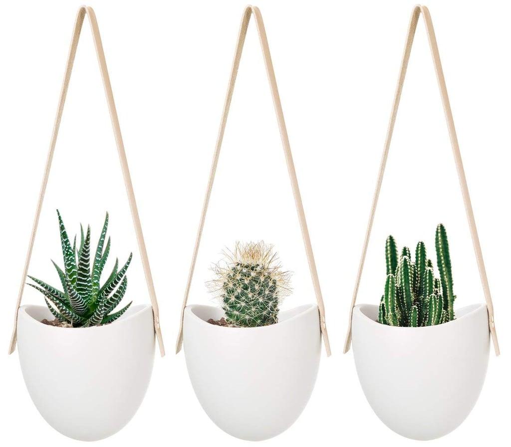 Mkono Ceramic Hanging Planters