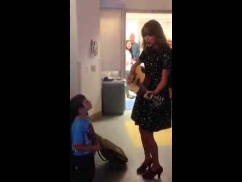 She Takes Time to Visit Sick Young Fans