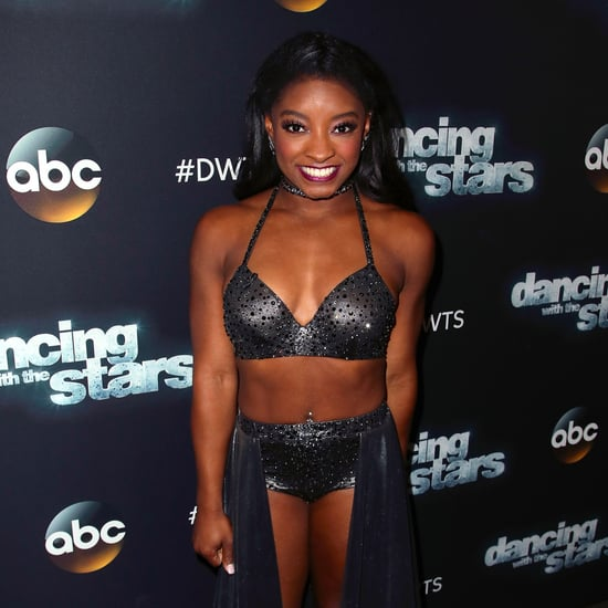 Simone Biles Not Smiling Comeback on Dancing With the Stars