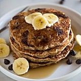 Whole-Wheat Chocolate Chip Banana Bread Pancakes