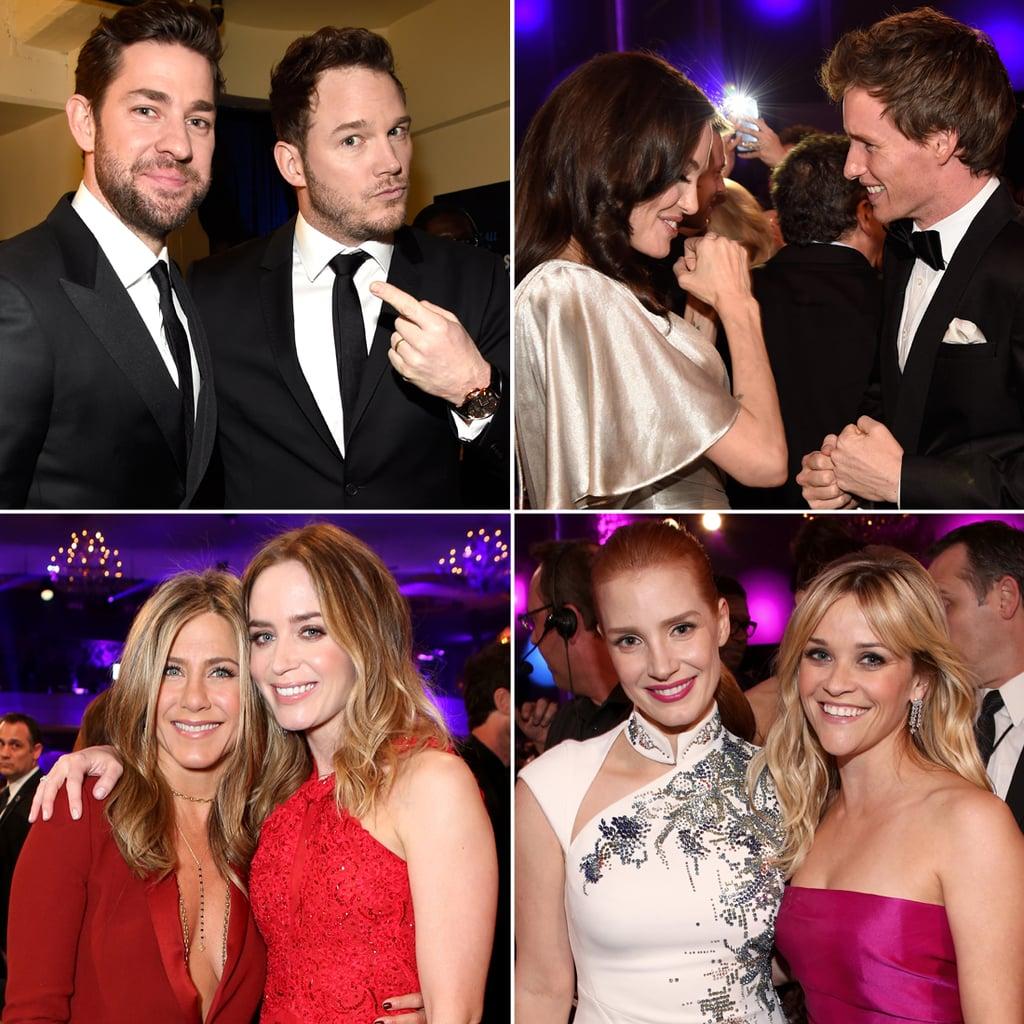 Adorable Duos Pal Around at the Critics' Choice Awards