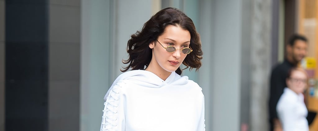 Bella Hadid Looks Like She's Wearing a Simple Cropped Hoodie Until She Does This 1 Thing