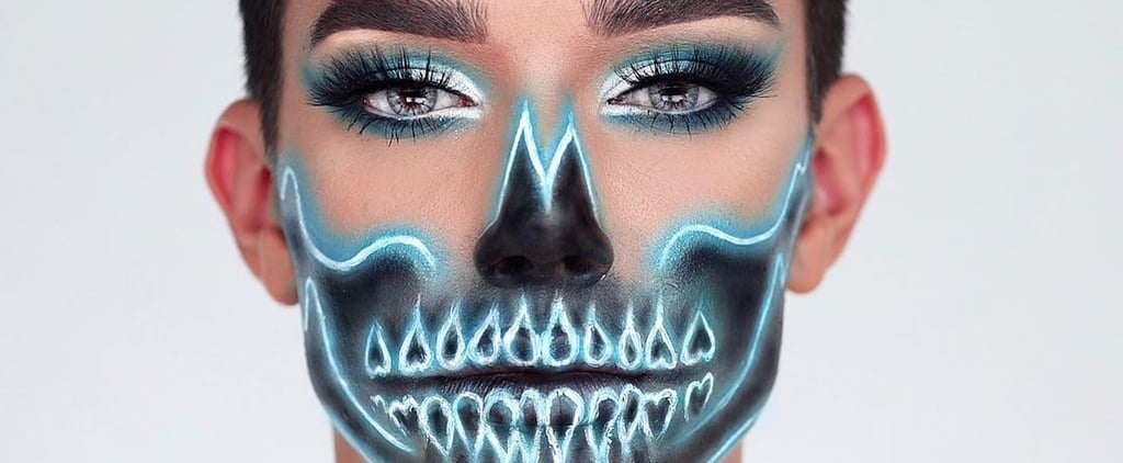 You'll Drop Your Pink Drink on the Floor When You See James Charles's Neon Skeleton Look