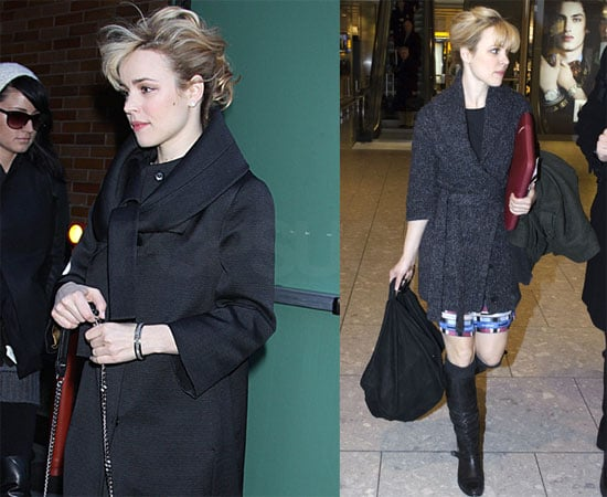 Photos of Rachel McAdams Arriving at JFK and GMA 2009-12-16 08:45:33