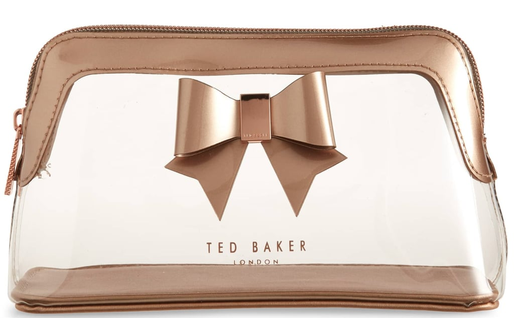 a652fe447bbf Ted Baker London Gemi Bow Clear Cosmetics Bag