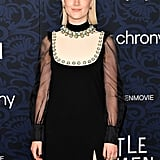 Pictured: Saoirse Ronan at the Little Women world premiere.