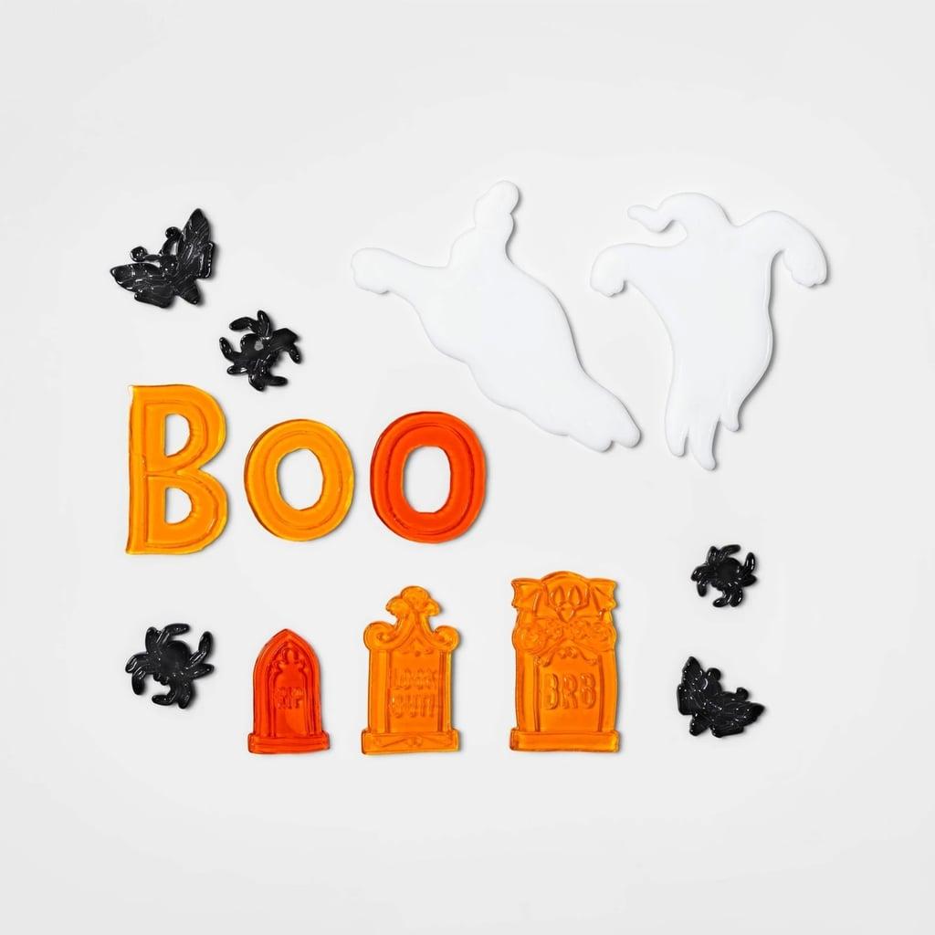 Boo Halloween Window Cling