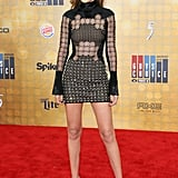 Wearing David Koma at the Guys Choice Awards.