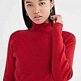 Urban Renewal Recycled Cropped Turtleneck Sweater