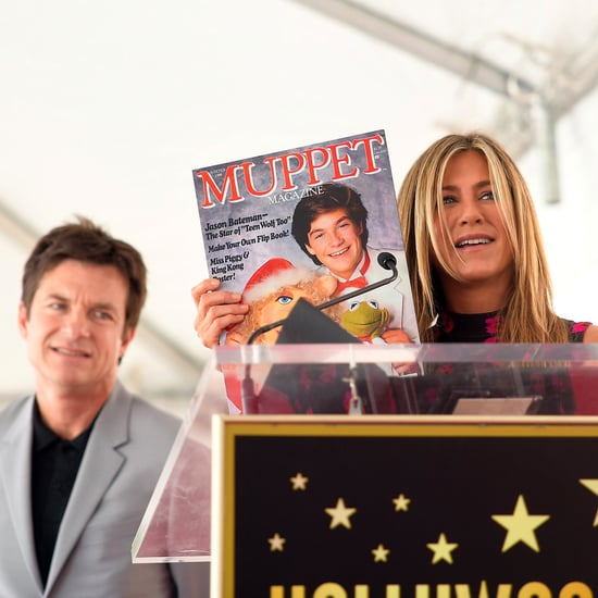 Jennifer Aniston at Jason Bateman's Walk of Fame Ceremony