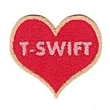 I Heart T-Swift Patch ($6)