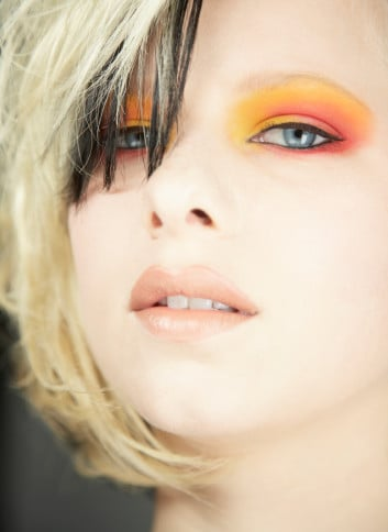 Beauty Trends 2008 Catwalk and Celebrity, Agyness Deyn and Pixie Geldof Makeup Hair, Beauty Crimes Now Cool