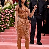 Kim Kardashian and Kanye West at the 2019 Met Gala