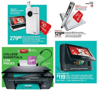 Target Back to School Sales
