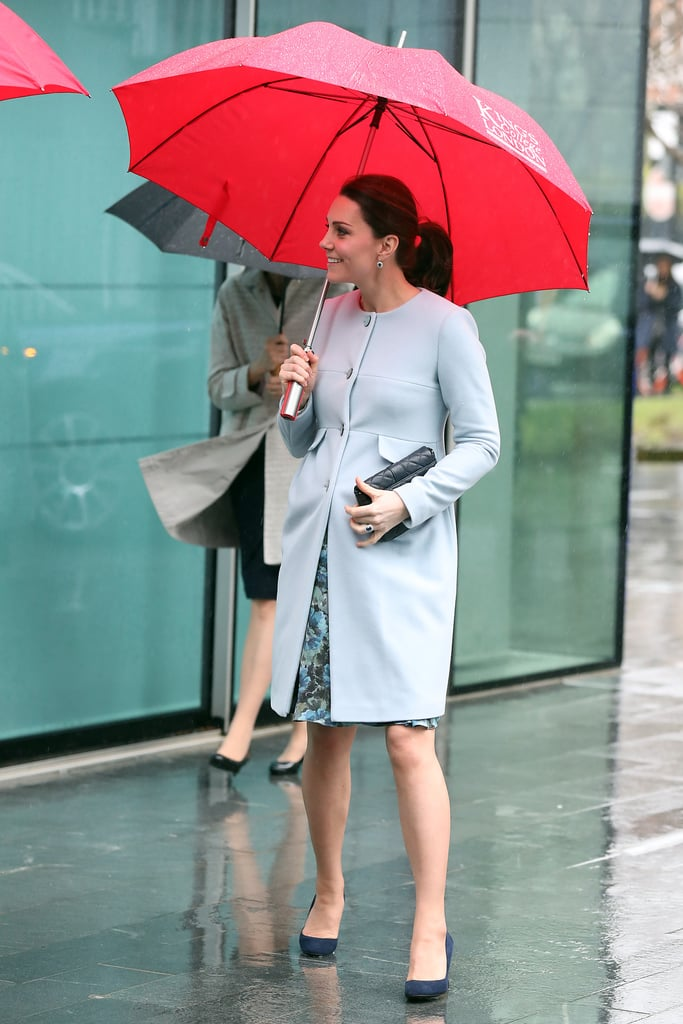 Kate Middleton Pregnancy Pictures in London January 2018